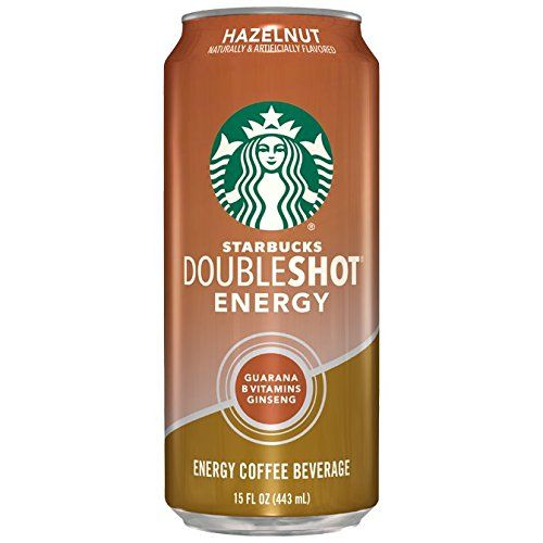 Starbucks Doubleshot Energy Drink, Hazelnut, 15 Ounce Cans, 12 Count ** Learn more by visiting the image link. #CoffeeDrinks