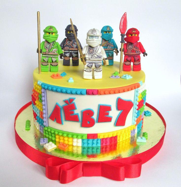 Фотография Sanchos 4th Birthday в 2019 г Лего торт