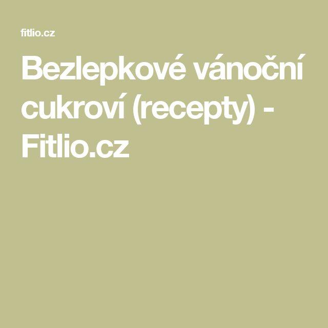 Bezlepkové vánoční cukroví (recepty) - Fitlio.cz
