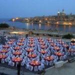 A Gala Dinner overlooking Valletta!