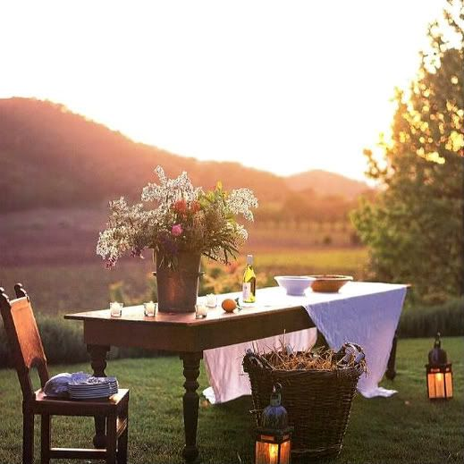 A country luncheon.................