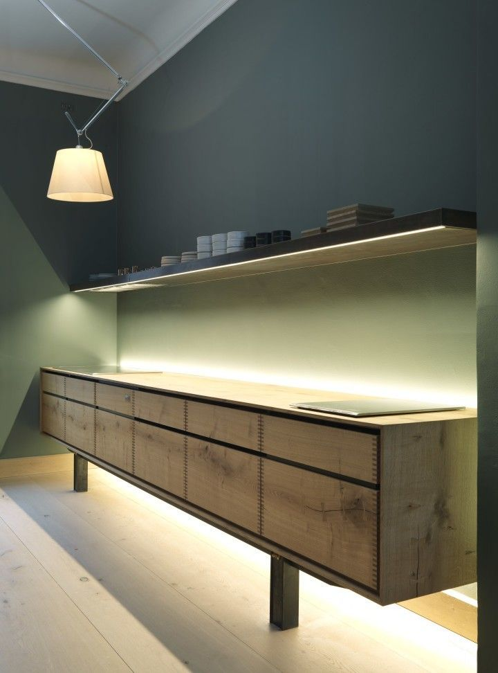 Kitchen of the week the dinesen wood kitchen extension - Kitchen led lighting design guidelines ...