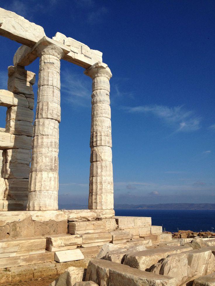 Temple of Poseidon Sounion, Greece