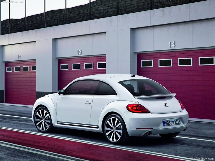 The New Beetle 2012, a modern twist to a very classy, old fashioned style.