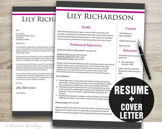 21 best Resume Designs images on Pinterest Resume design, Resume - resume for teaching profile