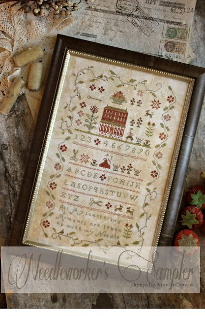 Needleworker's Sampler by With thy Needle & Thread 2013