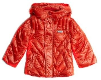 GUESS Boy's Coated Puffer Jacket (8-18)