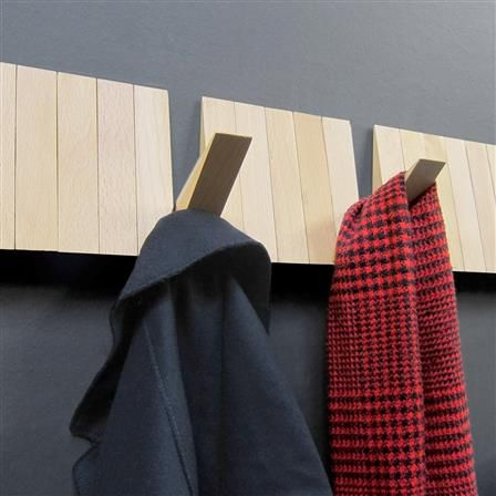 Switchboard Modular Wooden Coat Rack