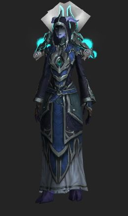 A Mage transmog set containing 16 items.