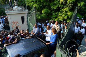Mise-en-scène d'Aristide et Narcisse en Haiti | Haiti Chery