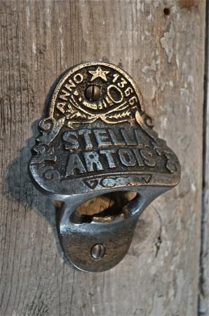 Fantastic Stella Artois beer bottle top remover bottle cap bottle opener bar man…