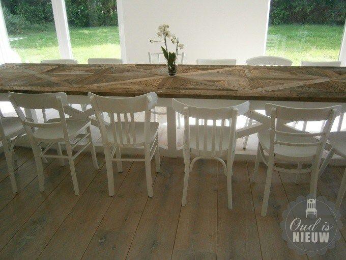 Meer dan 1000 idee n over cafe stoelen op pinterest for Kussens voor op stoelen