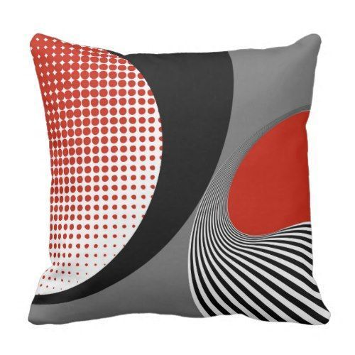 Decorating Your Home Decor with Red Throw Pillows Do you love a livened up living room? Do you like unique yet striking colors for office seat? Red throw pillows complements well with other home decor, offers elegance and style in the office and comes in a variety of shapes and sizes as well. Pillow in modern abstract style