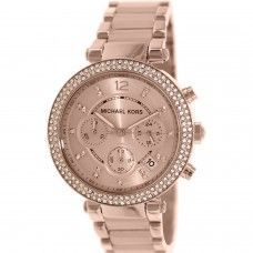 Michael Kors Parker Rose Gold Tone Ladies Watch MK5896 Sale! Up to 75% OFF! Shop at Stylizio for women's and men's designer handbags, luxury sunglasses, watches, jewelry, purses, wallets, clothes, underwear & more!