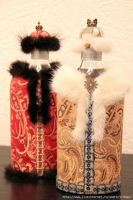 Мобильный LiveInternet Идеи декорирования винных бутылок + МК   MissKcu - Дневник Черной Кошки MissKcu  