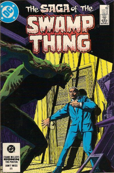 1985: Kirby Award, Best Continuing Series Saga of the Swamp Thing (DC, 1982 series)
