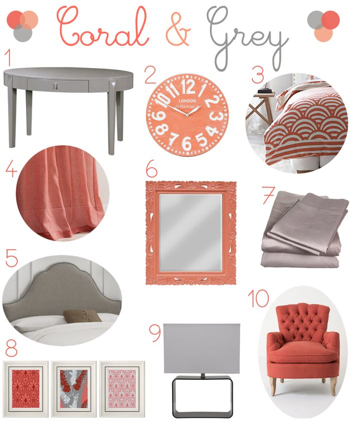 25+ best ideas about Coral bedroom decor on Pinterest | Coral ...