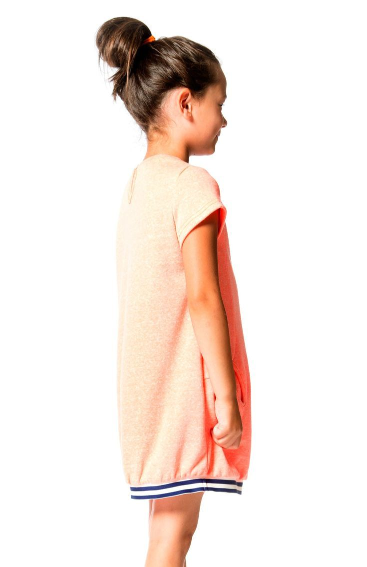 Your most casual days will be cute as can be with the Cold Press Fashion French Terry Dress. This little sweatshirt dress is made from soft cotton/poly French terry and features a sporty silhouette with short sleeves, Shop now at deuxpardeux.com #kidsstyle #dress #littlegirl #kidsfashion #littleboy #kidswear Follow our Pinterest page at @deuxpardeuxKIDS