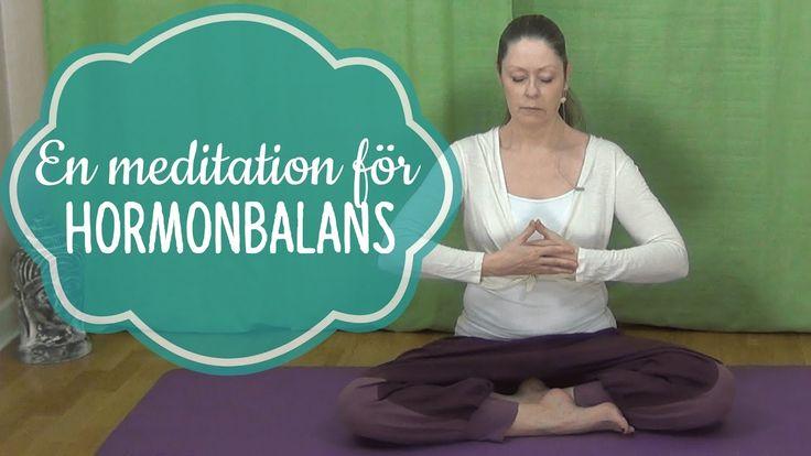 En meditation för Hormonbalans - Mediyoga