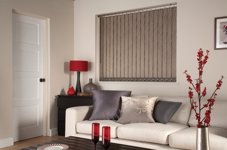 Brown Vertical Blind