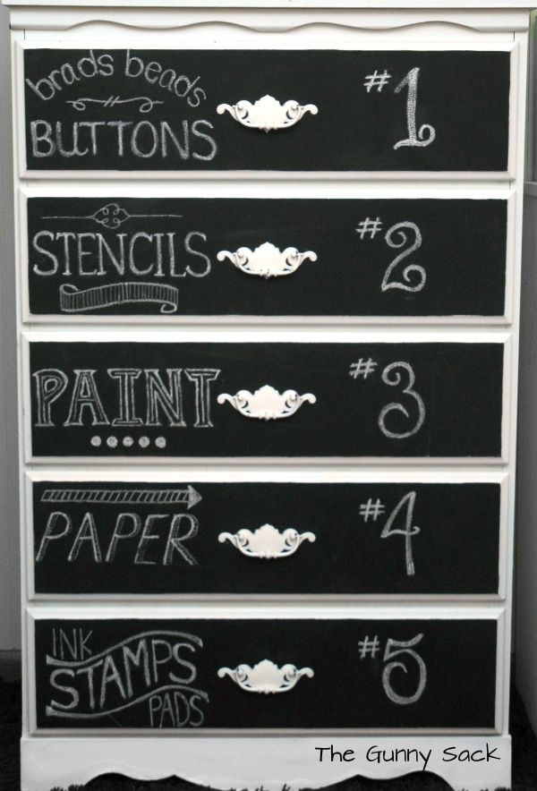 Home Stories A to Z for my craft dresser