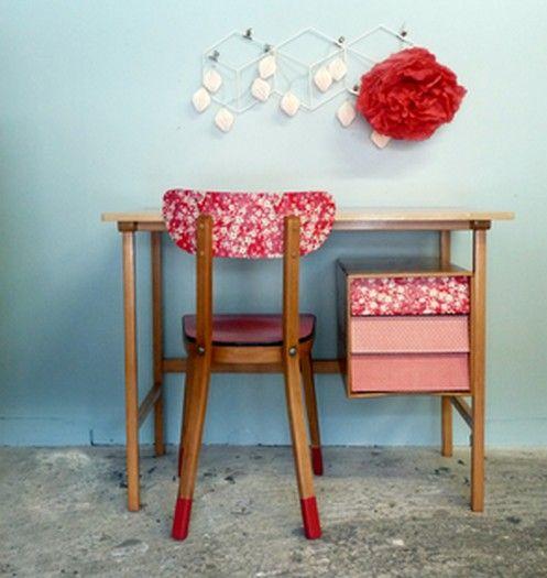 Best 20 bureau vintage ideas on pinterest for Chaise formica