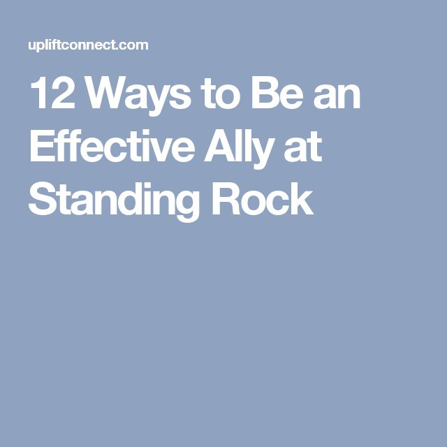 12 Ways to Be an Effective Ally at Standing Rock