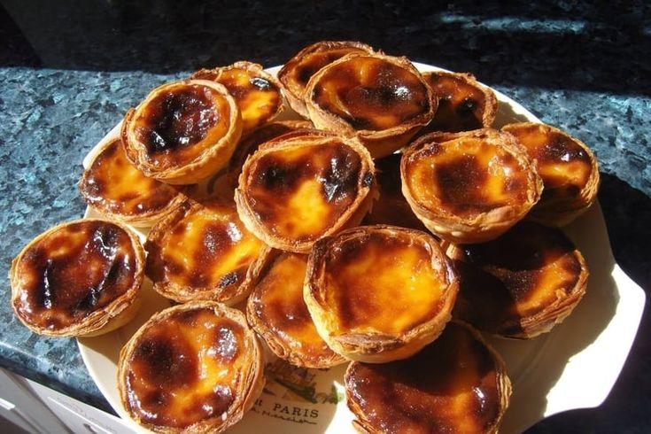Pour 24 pasteis : La veille, préparer la pâte : faire ...