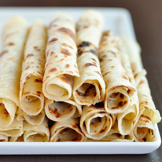 Norwegian Potato Lefse  Makes 16 small flatbreads or 8 large flatbreads    You can substitute two cups of leftover mashed potatoes for the mashed potatoes in this recipe.