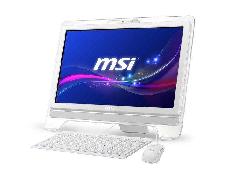 The MSI touchscreen white. Wow!!