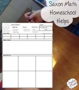 How do you create a math worksheet for a homeschooled child?