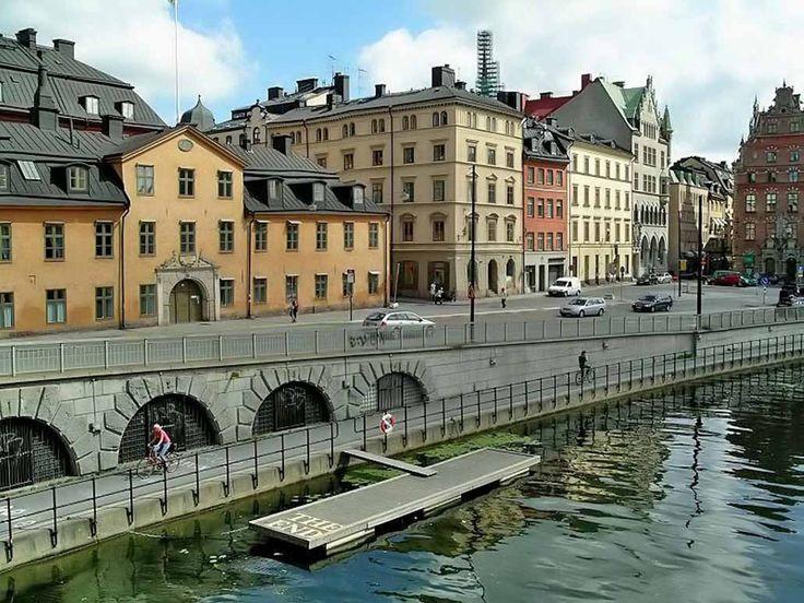 Стокгольм Швеция - достопримечательности. Фото