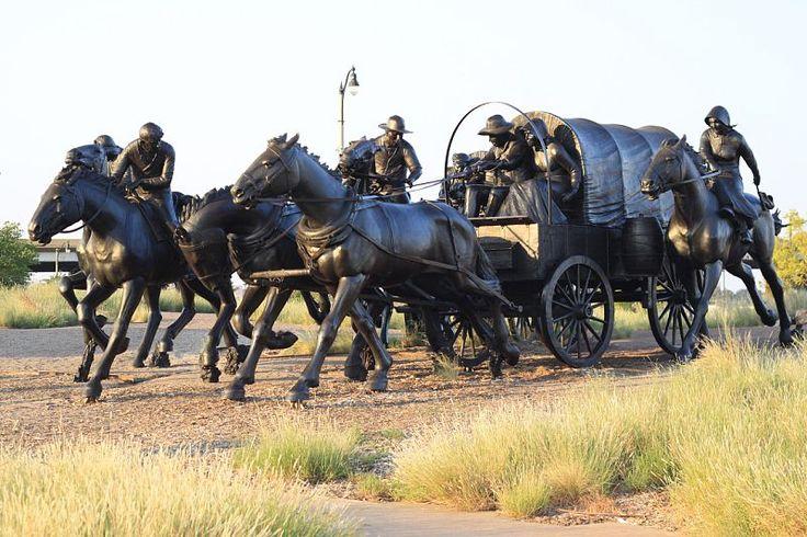 Oklahoma Land Run in Bricktown
