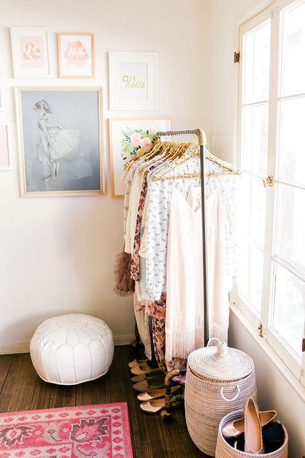 Chic office inspiration from LaurenConrad.com.