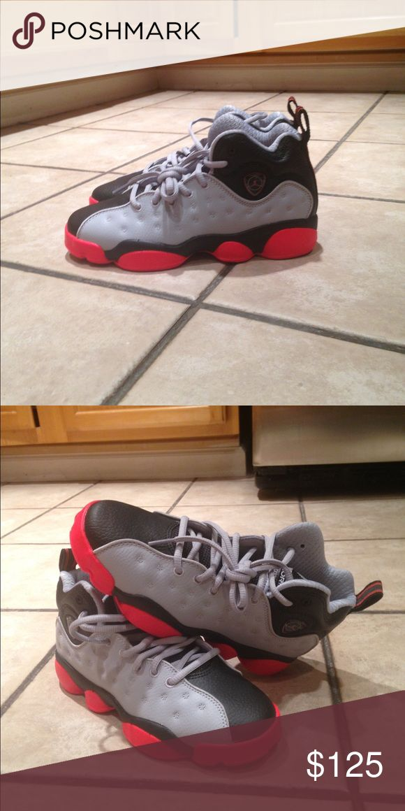 New Retro Jordan's 13 NO Trades. Not worn. No box. No extra pics. These are Boys. Please use OFFER feature. Jordan Shoes Sneakers