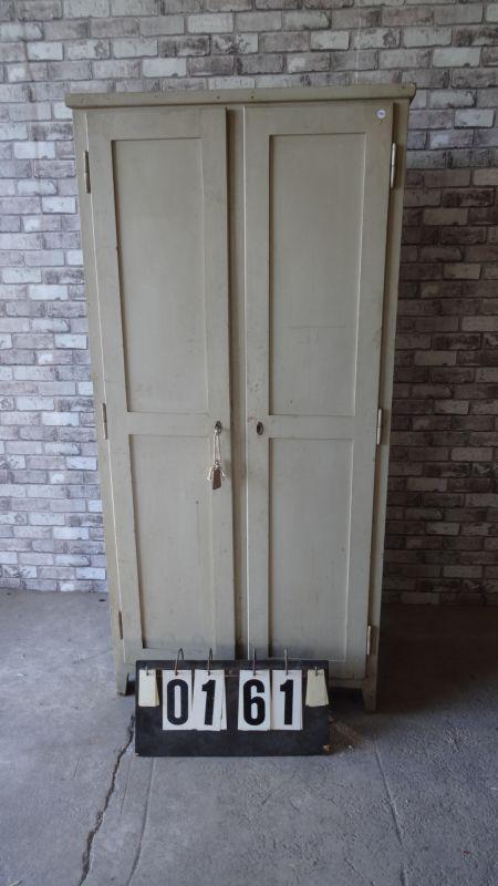 Unieke houten locker!