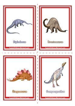 T Rex Flashcards