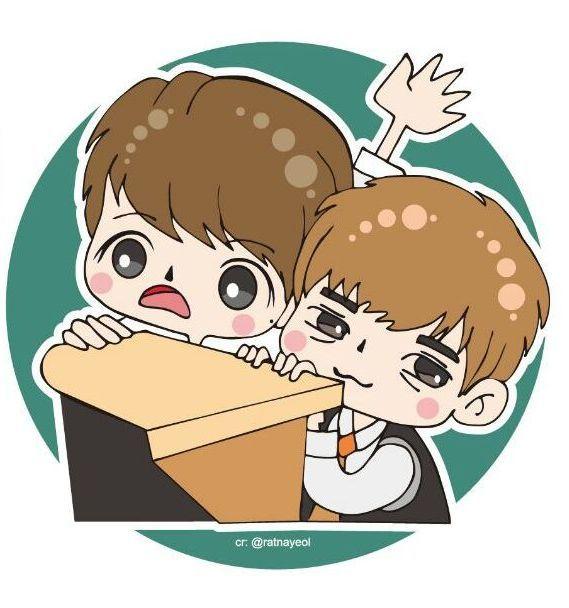 Yeol and Myung... Thyphoon School