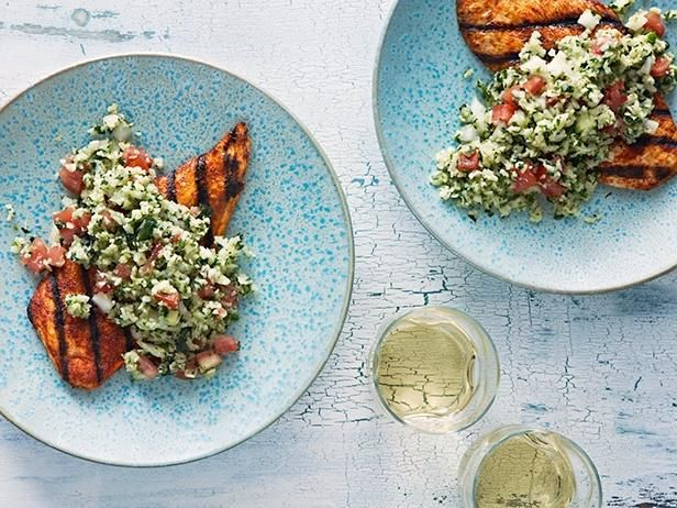 Tonight, try a recipe inspired by a #Chopped mystery basket ingredient like this Jicama Tabbouleh and Chicken Salad. Brought to you by @Buick.: Food Network, Chicken Dinners, Jicama Tabbouleh, Chicken Recipes, Foodnetwork Com, Chicken Salads, Network Kitchens, Easy To Follow Jicama, Chicken Salad Recipes