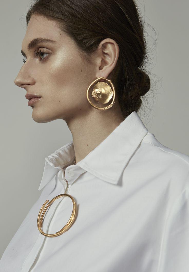 ANNA QUAN x Alighieri Jewellery - Minim Earring  Single statement earring | 24k gold plated
