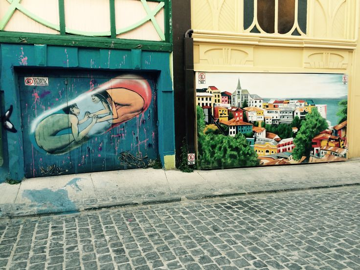 Street art. Valparaiso