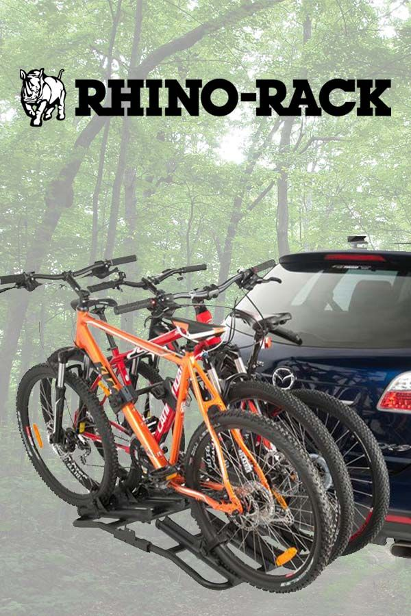 Rhino Rack Platform Hitch Mount Bike Carrier Fits 3 Bikes Bike
