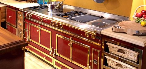 Elegant Ovens and Kitchen Ranges by La Cornue — Style Estate