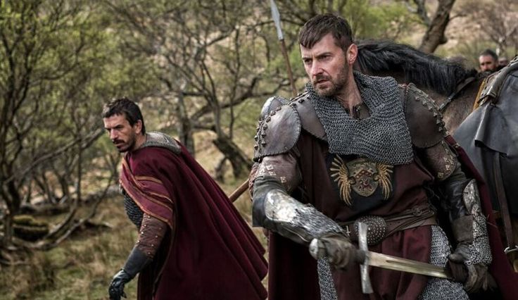 Richard Armitage Go Medieval in First 'Pilgrimage' Images.  Armitage portrays a misanthropic knight with whom the monks are forced to share their journey.