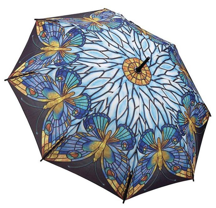 Stained Glass Butterfly Stick Umbrella Stained Glass Butterfly Stick Umbrella [GMSTB] : Wholesale Umbrellas, Galleria Umbrellas, UK Bulk Importer and Distributor - Blooming Brollies, Wholesale and bulk umbrellas for sale. Trade discounts for our range of Galleria, Bugzz Kids, Harold Feinstein and Fifi Umbrellas