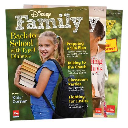 Disney and Lilly Diabetes have joined forces to bring you these great reads for families with children with type 1 diabetes.