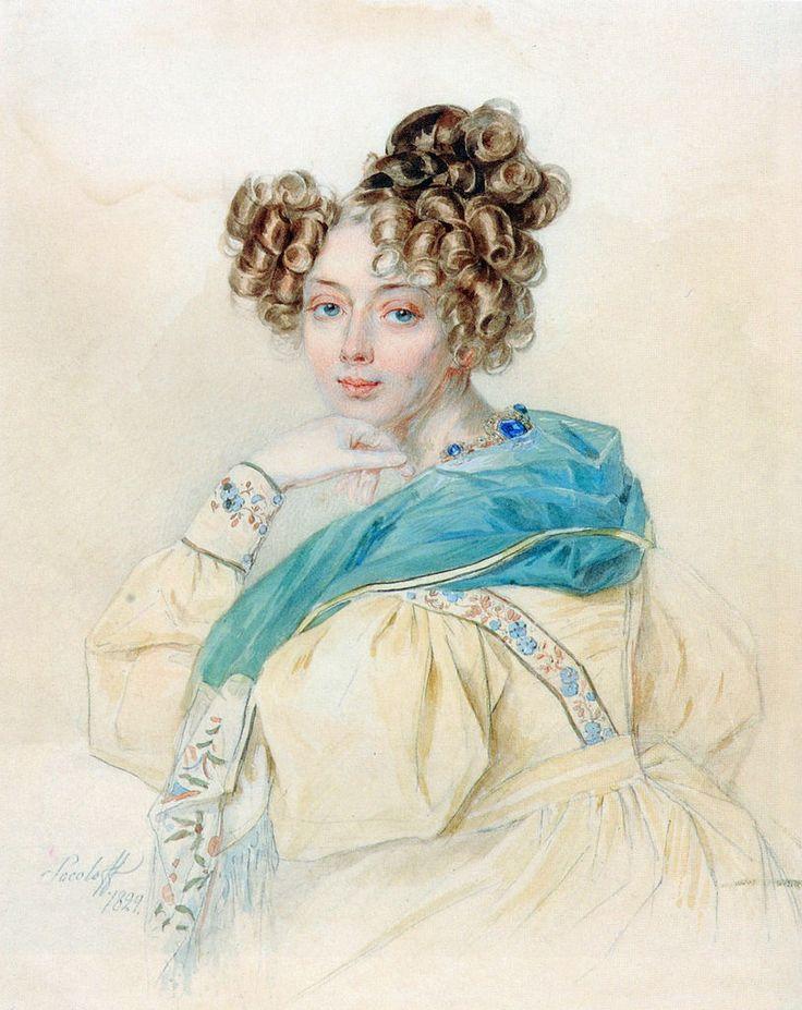 Графиня Орлова Петр Федорович Соколов, 1829