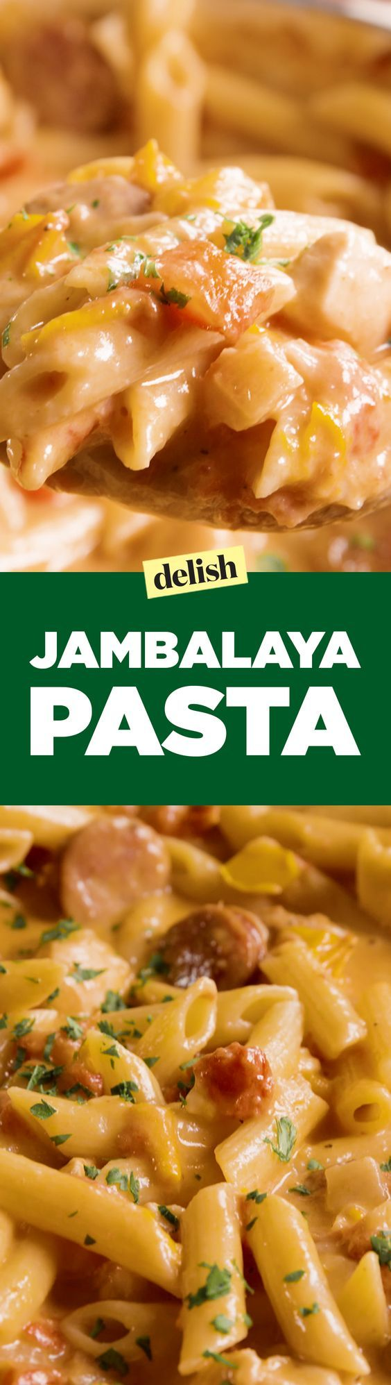 This jambalaya pasta has a kick we can't resist. Get the recipe on Delish.com.