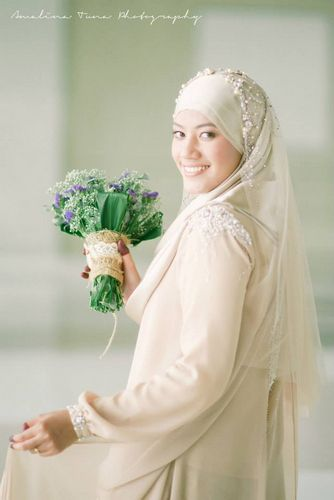 Fishtail bridal dress
