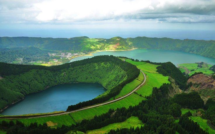 Lagoa das Sete Cidades, Portugália